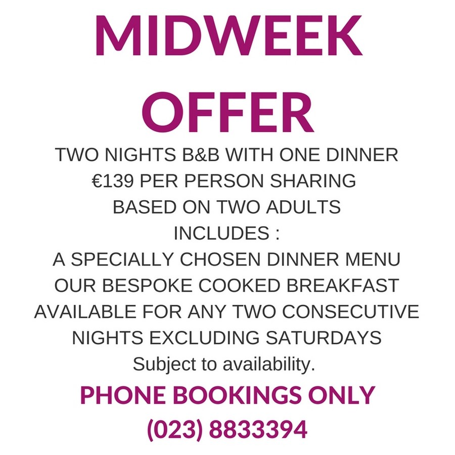 MidWeek Special Offer